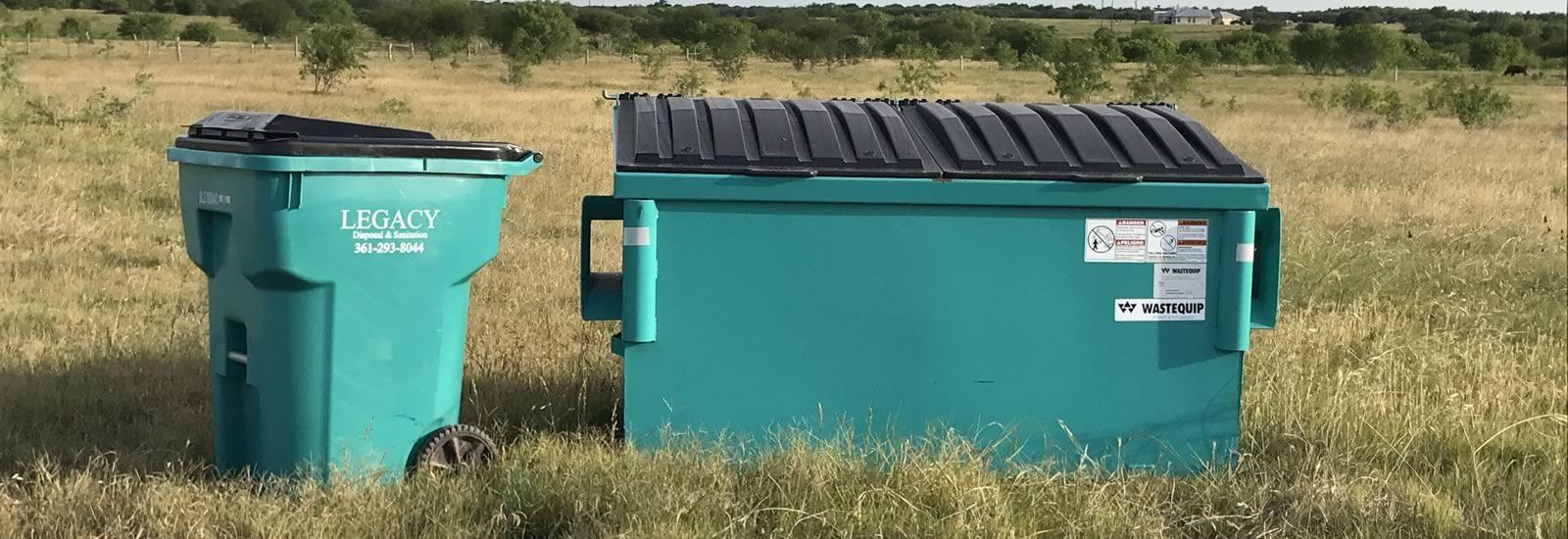 Legacy Disposal & Sanitation : Portable Toilets, Dumpsters ...