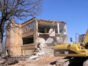 Building Demolition in Victoria Texas